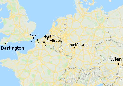 Von Wien nach Dartington
