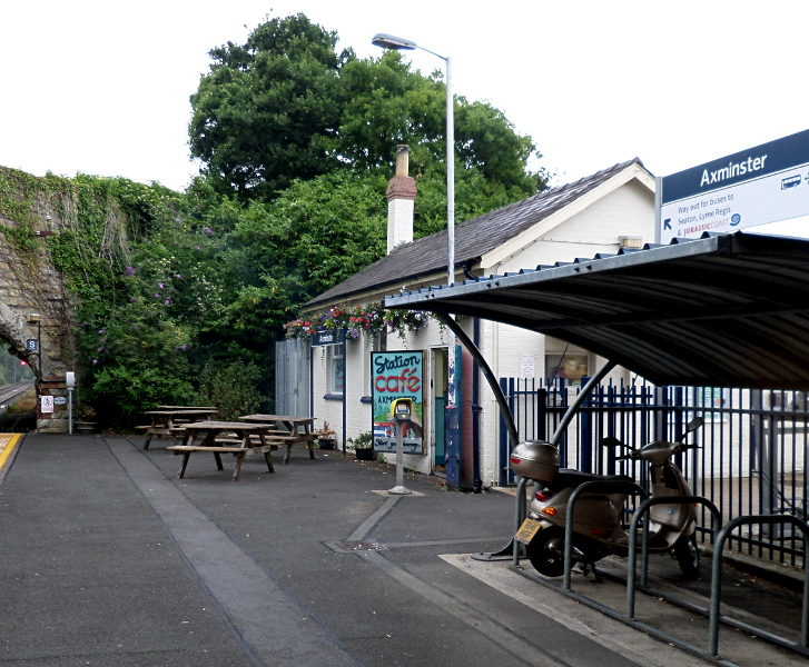 Station Cafe in Axminster