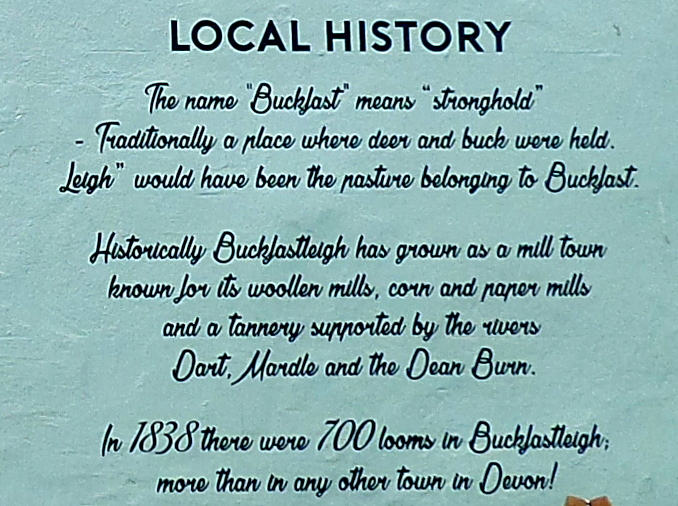 Buckfastleigh, The Globe: Local history