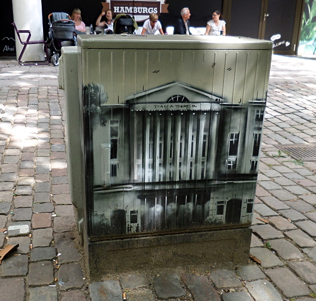 Stromkastenbemalung für das Thalia Theater in Hamburg