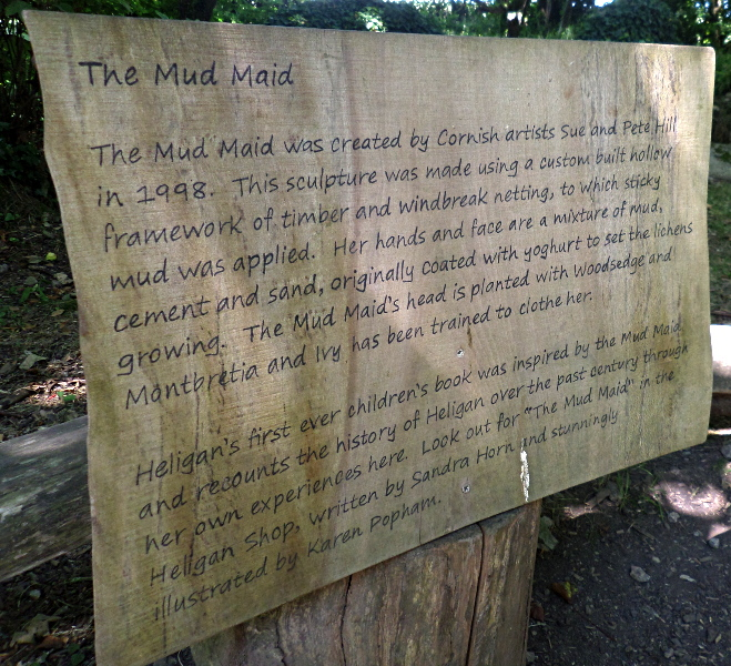 Lost Gardens of Heligan, Mud Maid