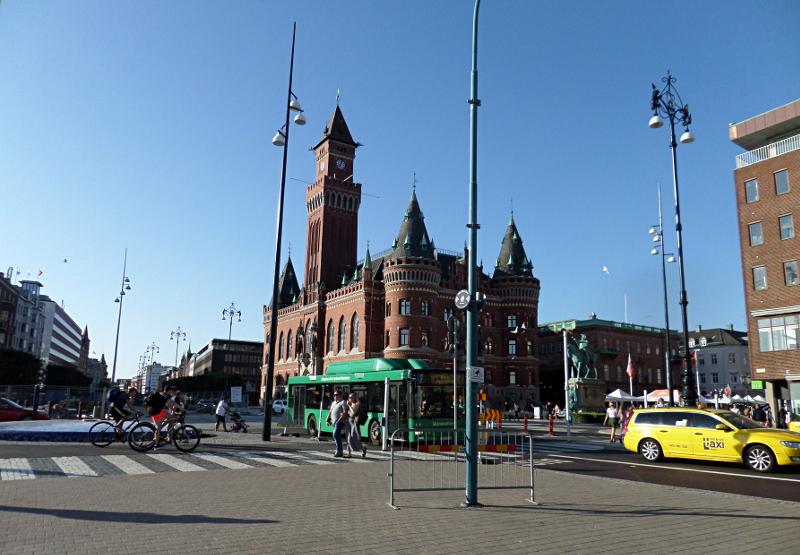 Das Rathhaus von Helsingborg