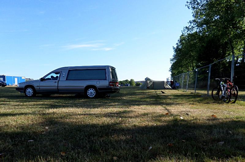 Camping-Nachbarn