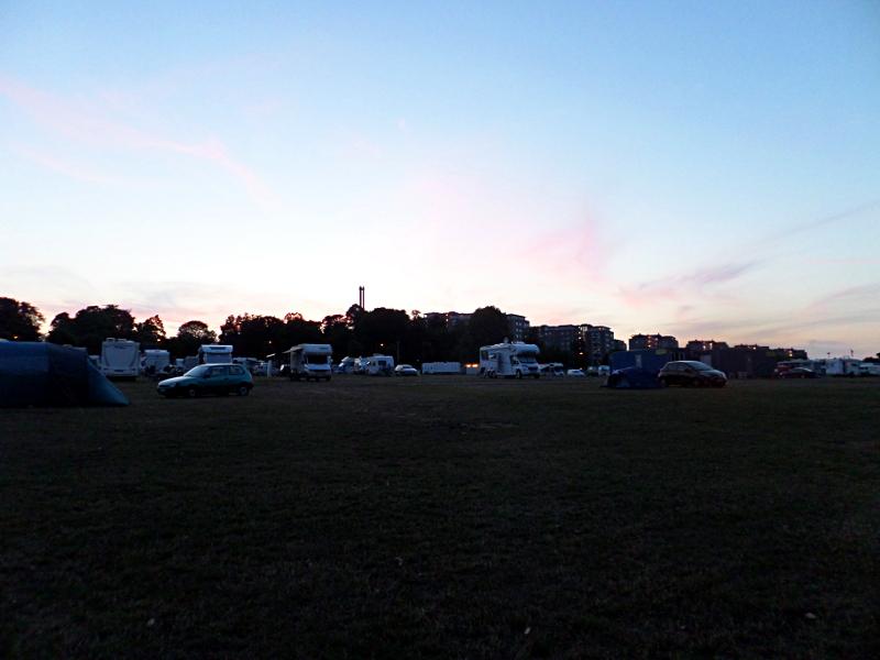 Sonnenuntergang in Bellahoj