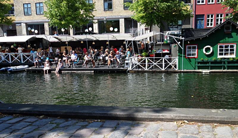Feierabend am Christianshavn Kanal