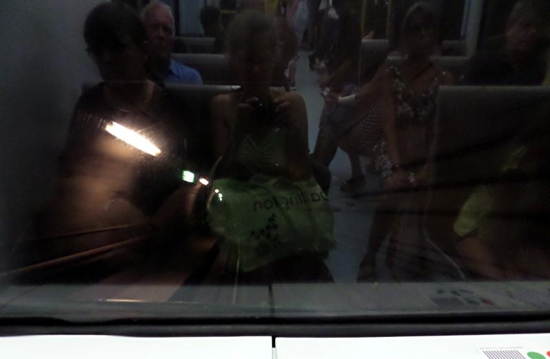 In der vordersten Reihe der selbstfahrenden U-Bahn