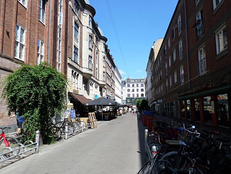 Begrünung mit Kletterpflanzen in Norrebro, Kopenhagen