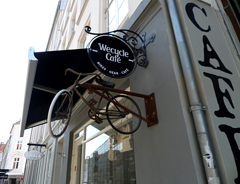WeCycle Cafe: Bikes Gear Cafe