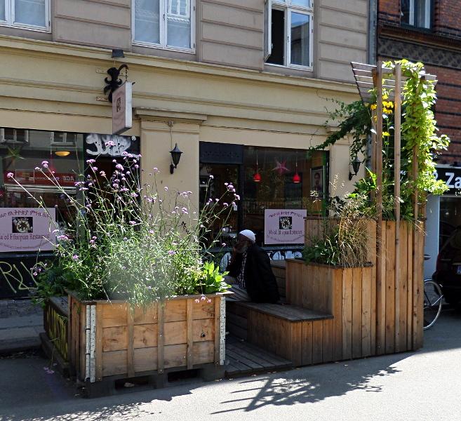 Grünoase in Kopenhagen