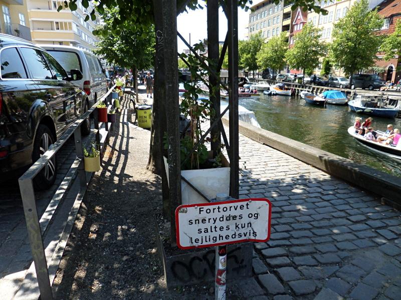 Guerilla Gardening in Kopenhagen