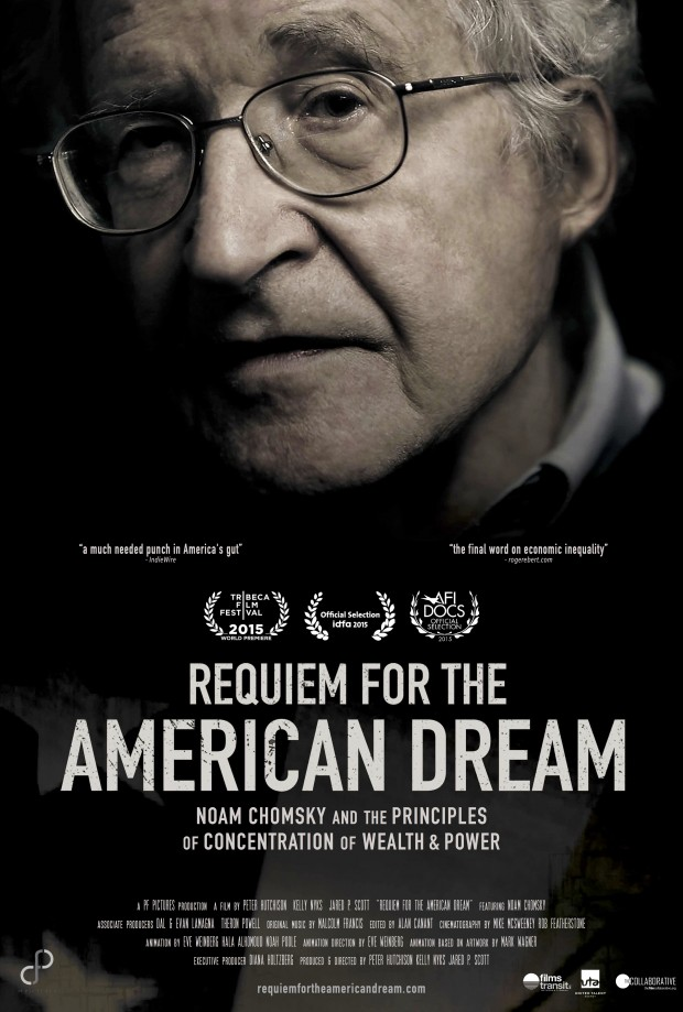 "Filmplakat ""Requiem for the American Dream"""