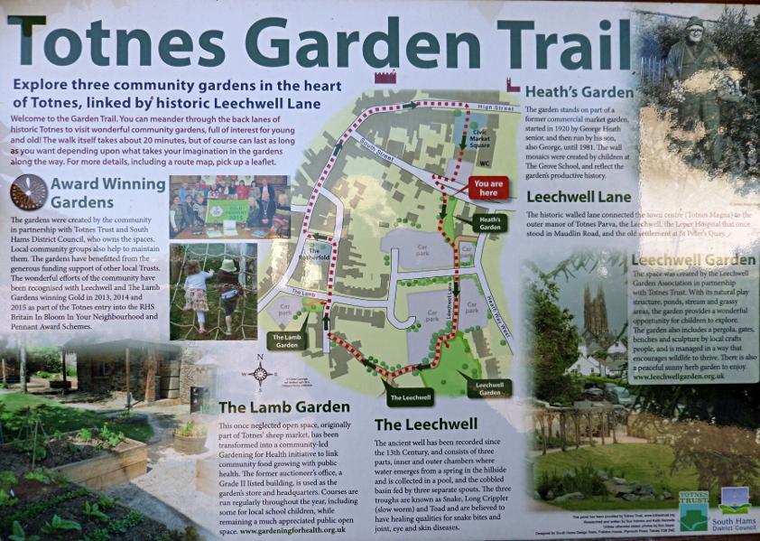 Totnes Garden Trail