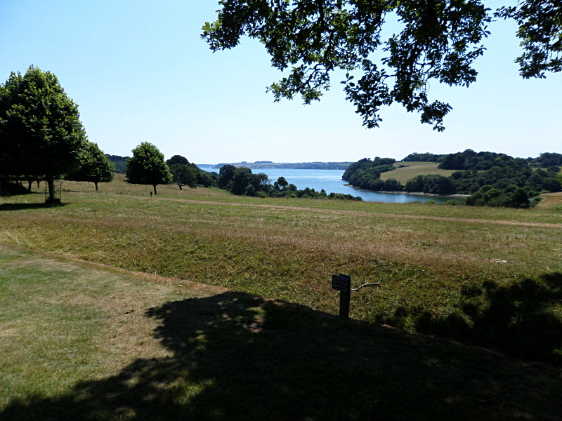 Trelissick, Blick zum Channels Creek