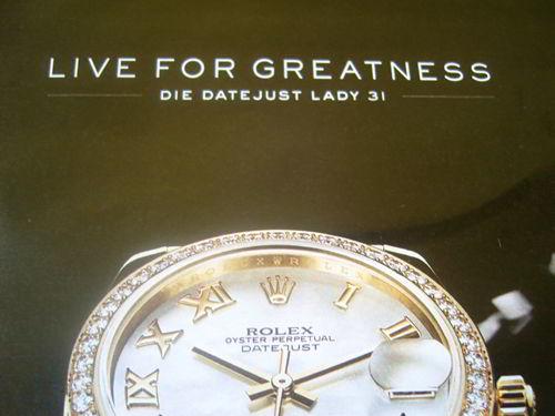 Die Rolex, die